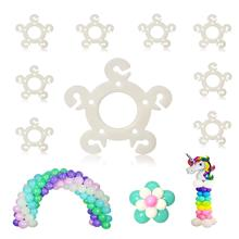 METABLE 120 pcs Balloon Clips s for Balloon Arch, Balloon Column Stand and Balloon Flowers цена