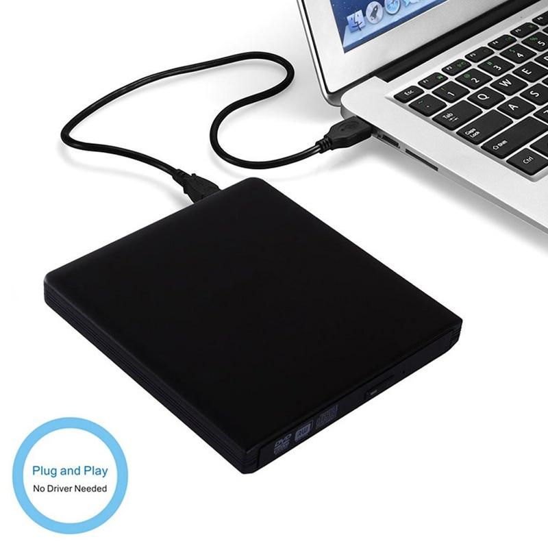 YiYaYo USB 3.0 DVD RW kirjutaja Väline CD / -ROM optiline draiv CD - Arvuti komponendid - Foto 5