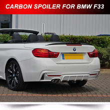 Carbon For BMW 4-Series F33 Convertible Performance Trunk Spoiler Wing 2016 430d