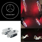 4Pcs LED Car Door Courtesy Laser Projector Logo Ghost Shadow Light for Mercedes W221 Benz S Class S500 S350 S63 S65 Logo