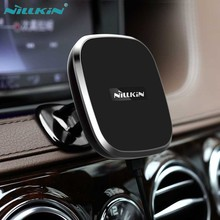 Nillkin Car QI Wireless Charger II A Magnetic Air Vent Mount pad for Samsung S6 S7 Edge S8 Plus Note 8 for iPhone X 8 6s 7 7Plus