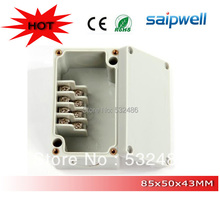 high quality IP66 abs terminal block box with 4 terminals (wahterproof box series)