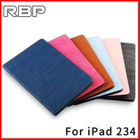 RBP For IPad 2 3 4 Case Cover For IPad 4 Case Ultra Thin Leather Case