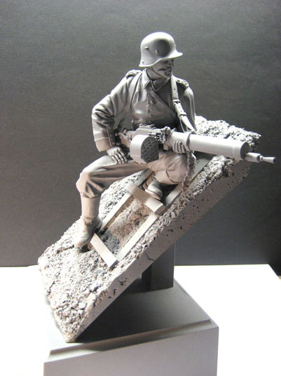 Regiment WWII Soldiers Resin Figure Matter No-Colour Military GK Infantry Imperial-Subject