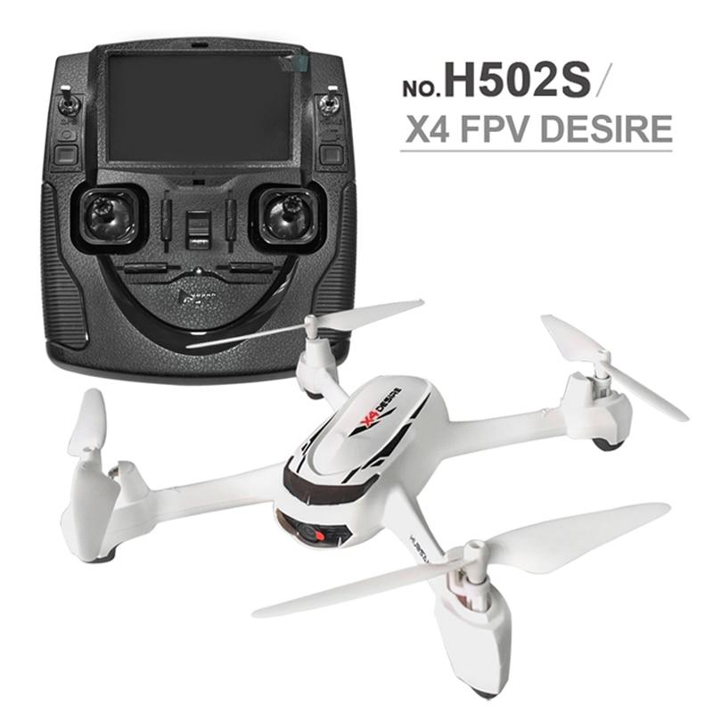 Hubsan X4 H502S RC Drone 5.8G FPV GPS Altitud Modo RC Quadcopter con 720 P de La