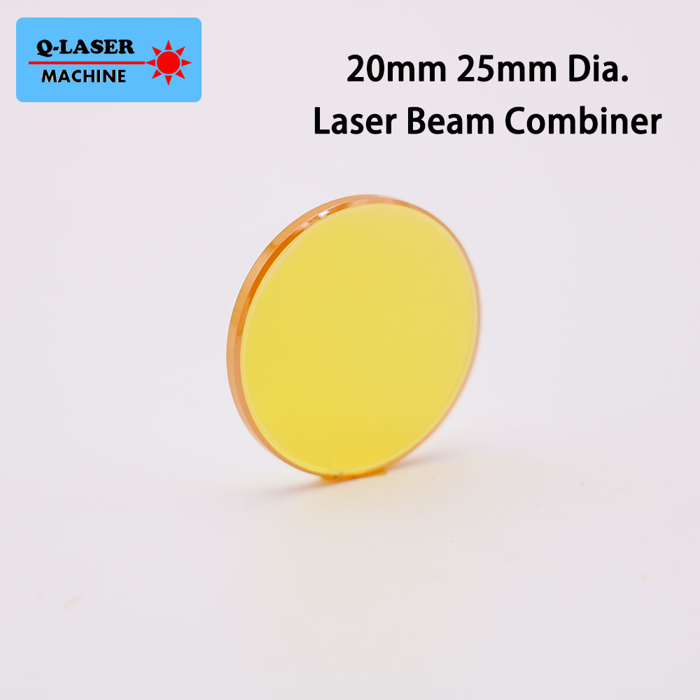 10.6um Co2 Laser Beam Combiner Mirror 20mm 25mm Diameter 2mm Thickness For Laser Engraving Cutting Machine Free Shipping сумка ggwoo 355