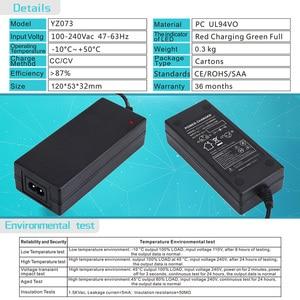 Image 5 - Yangtze 29,4 V источник питания 2A 1A литиевая батарея зарядное устройство для 24V электрический скутер Интеллектуальный Электрический велосипед инструмент