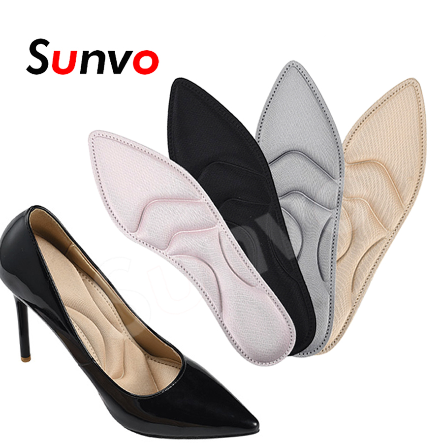 Women Insoles Soft Massage Foot for High Heel Shoes Non-Slip Shock Absorption Breathable Comfortable Cushion Insole Pad Inserts image