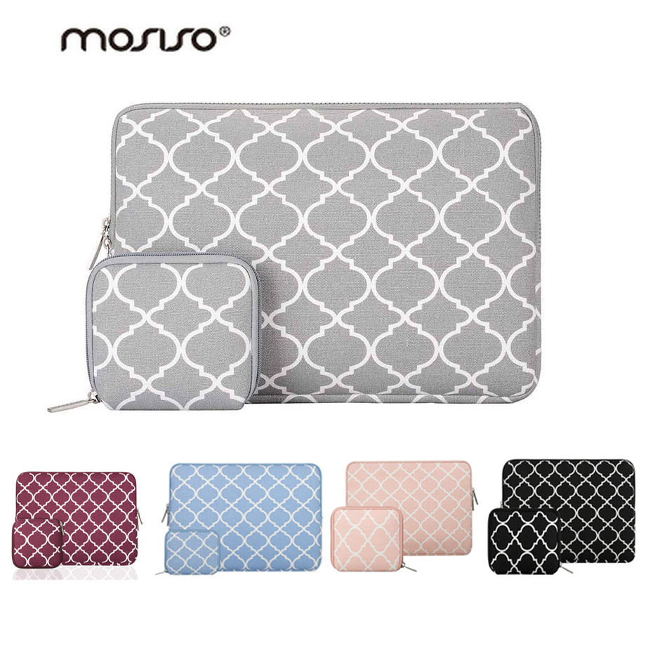 MOSISO Laptop Bag Case for Macbook Air Pro Retina 11 13 14 15 Zipper Bags Carry Pouch Cover for Asus Lenovo Notebook Soft Sleeve цена
