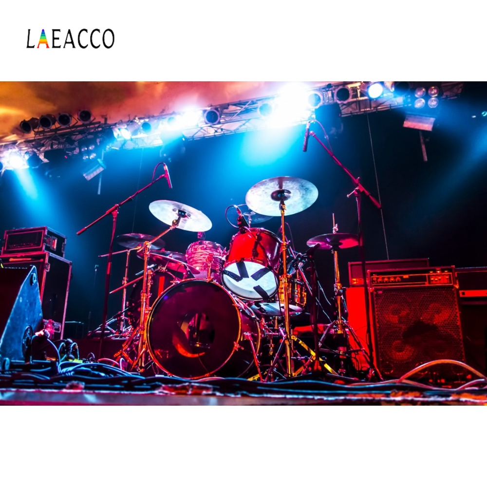 Laeacco Stage Musical Play Spotlight Baby Portrait Photography Background Customized Photographic Backdrops For Photo Studio in Background from Consumer Electronics