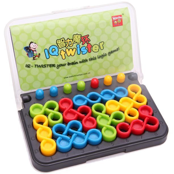 100 Chanllenges IQ Twister jouet pour enfants Nibobo logique raisonnement ToyBrain jeu unique jeu de société Intelligence jouet