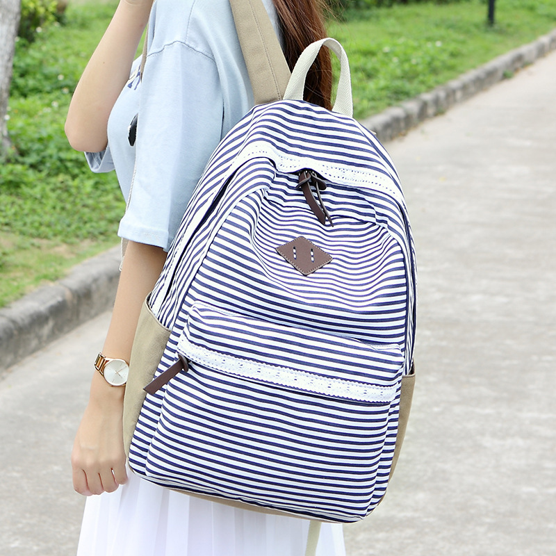M032 New School Backpack Women Children Schoolbag Back Pack Leisure Korean  Ladies Knapsack Laptop Travel Bags for Teenage Girls 0995cc02c4263
