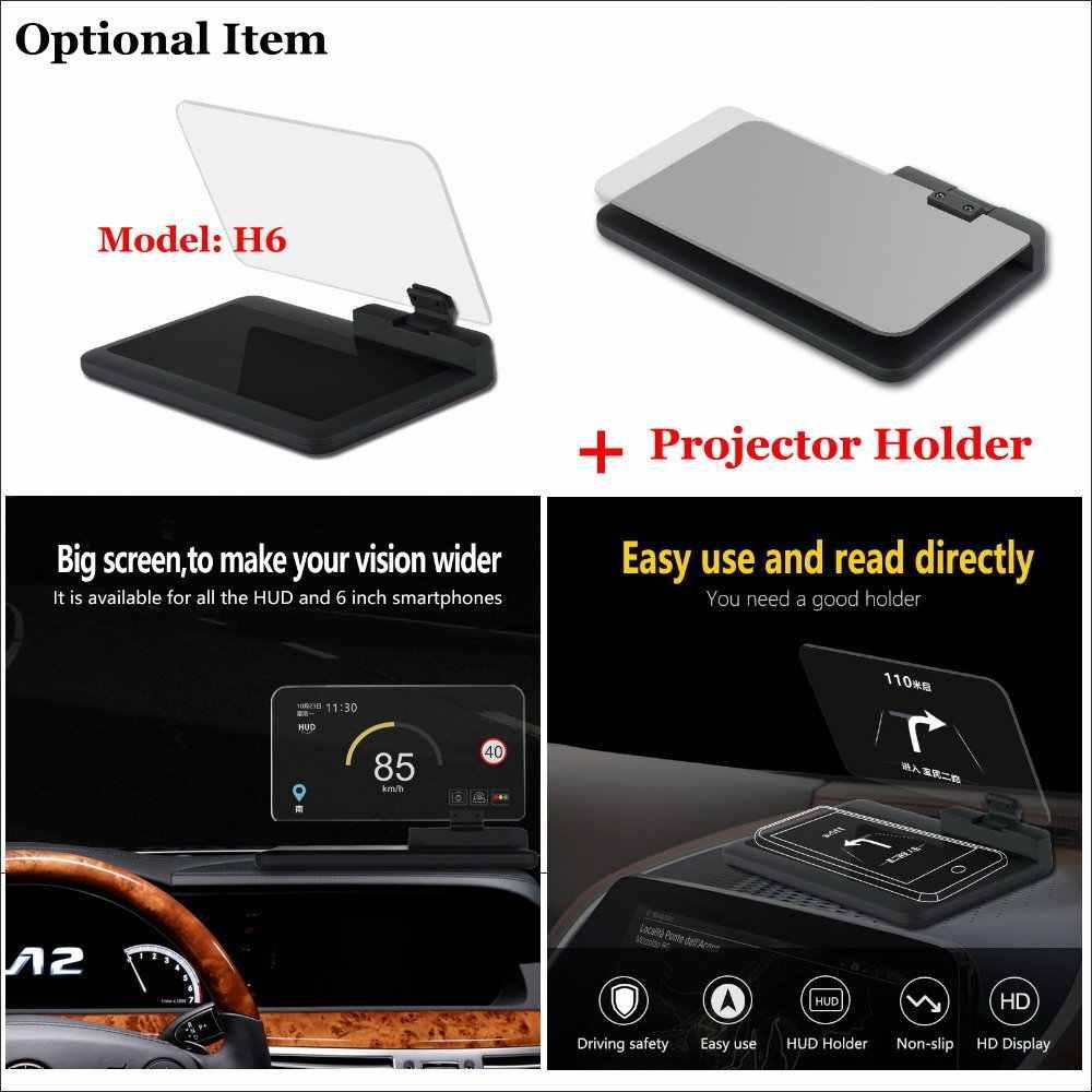 Liandlee Car Head Up Display HUD For Nissan Sunny N17 2011-2018 Digital  Projector Screen OBD Mileage Fuel Consumption Detector