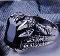 Ручной работы 925 серебряных дракон лапа кольцо винтаж тайский серебряный дракон мощность человек кольцо чистого серебра ювелирные изделия палец кольцо подарок