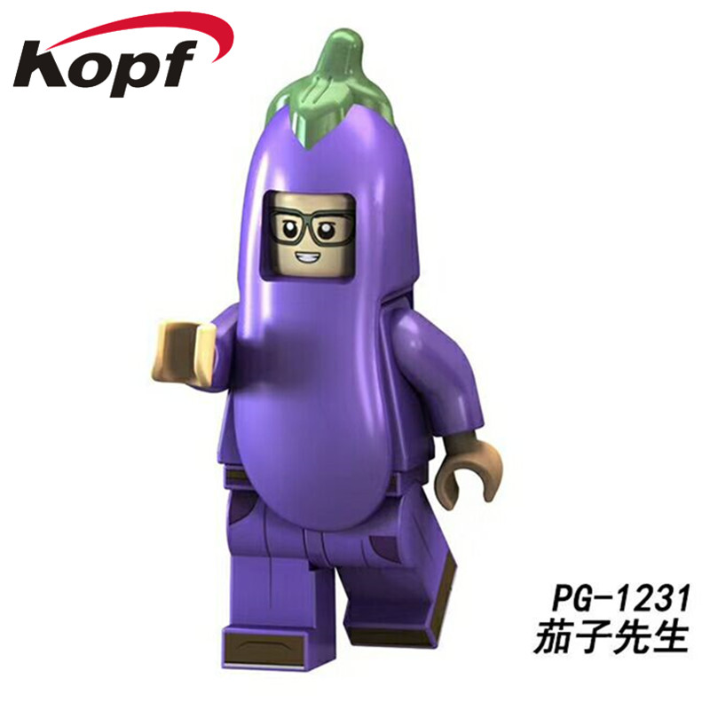 Hot Item Super Heroes Donald John Trump With Two Color Hat Lego Minifigure Toys