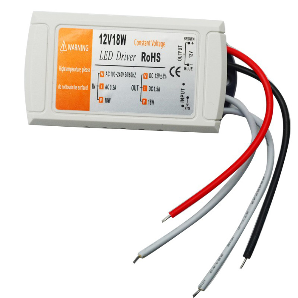 Professional DC12V 100W Lighting Transformer LED Driver for LED Strip Ceiling Light Bulb Power Supply image