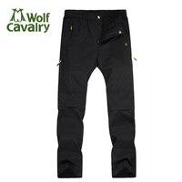 CavalryWolf Wiosna Lato Na Zewnątrz Piesze Wycieczki Spodnie mężczyźni kobiety Wymienny trekking Camping Wędkarstwo Spodenki Szybkie Pranie Spodni pant