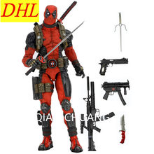 "NOVA 18 ""45 CENTÍMETROS Dos Desenhos Animados NECA ÉPICO Deadpool Final 1/4 Scale PVC Action Figure Collectible Modelo Toy VAREJO Requintado CAIXA S351(China)"