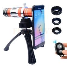 Big sale 2017 18X Telescope Telephoto Lenses 150X Zoom Macro Lens Fish eye Wide Angl Microscope Lentes For Samsung S3 S4 S5 S6 S7 edge