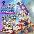 Lovelive! Honoka Kotori Umi Eli Nozomi Maki Rin Hanayo Nico despertar circo vestido anime cosplay