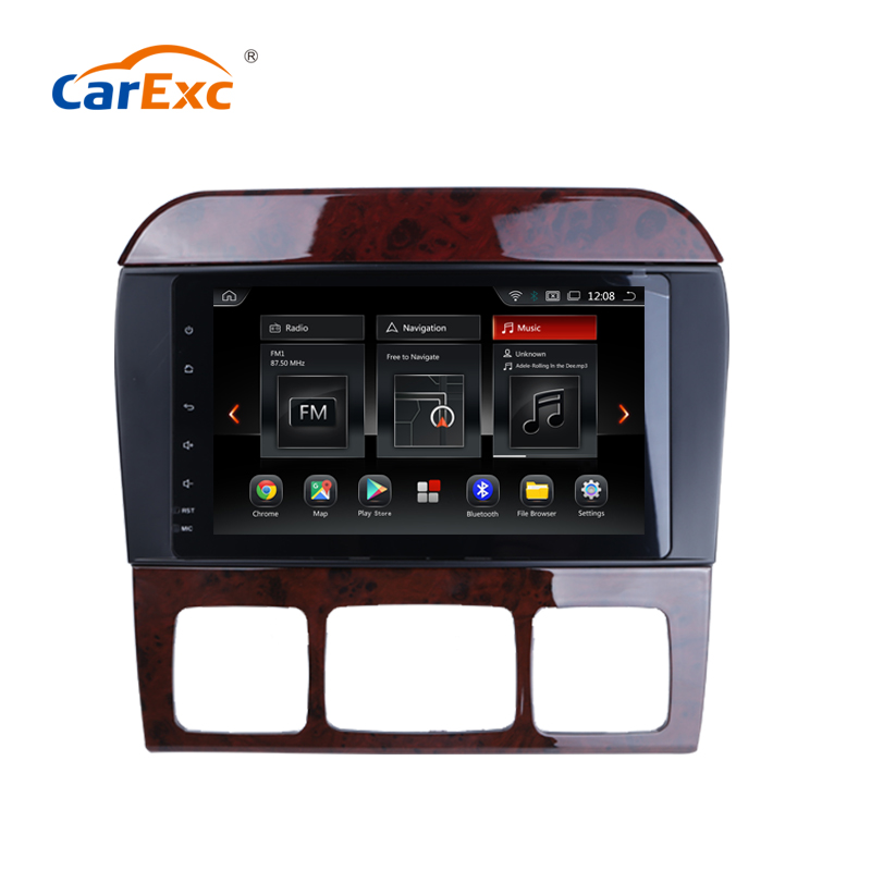 CarExc Android 9.0 OS Octa Core For <font><b>Benz</b></font> <font><b>W220</b></font> S320 S350 <font><b>S500</b></font> Car Radio Stereo With WiFi GPS Navigation Multimedia Player System image