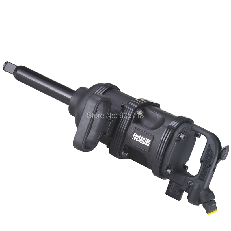 High Quality 3600Nm Heavy Duty Industrial 1 Pneumatic Impact Wrench Professional Air Wrench Tools sat0109 high quality impact wrench pneumatic rivet gun air cylinder