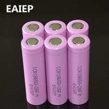 6pcs/lot Original 18650 3.7V 2600mAh LI-Ion batteries rechargeable Battery ICR18650-26FM safe batteries Industrial use