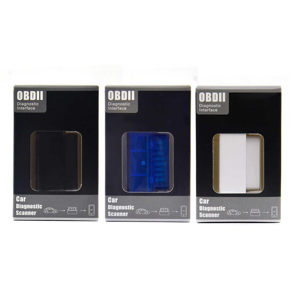 En iyi fiyat PIC18F25K80 Çip ELM327 V1.5 ELM 327 CAN OBD2 Teşhis Tarayıcı