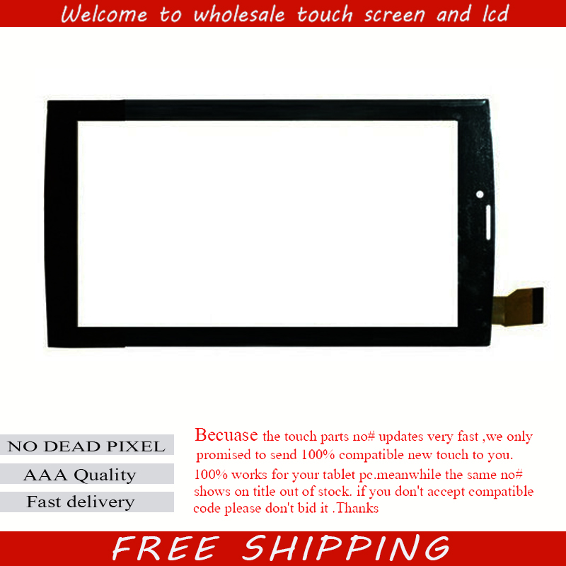 Black New Touch screen For 7 DEXP URSUS 7MV4 3G Tablet Touch panel Digitizer Glass Sensor replacement Free Shipping new 7 tablet for dexp ursus g270i touch screen digitizer panel replacement glass sensor free shipping