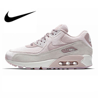 Original Authentic NIKE AIR MAX 90 LX Women's Running Shoes Sport Outdoor Sneakers Comfortable Durable Breathable 898512 600
