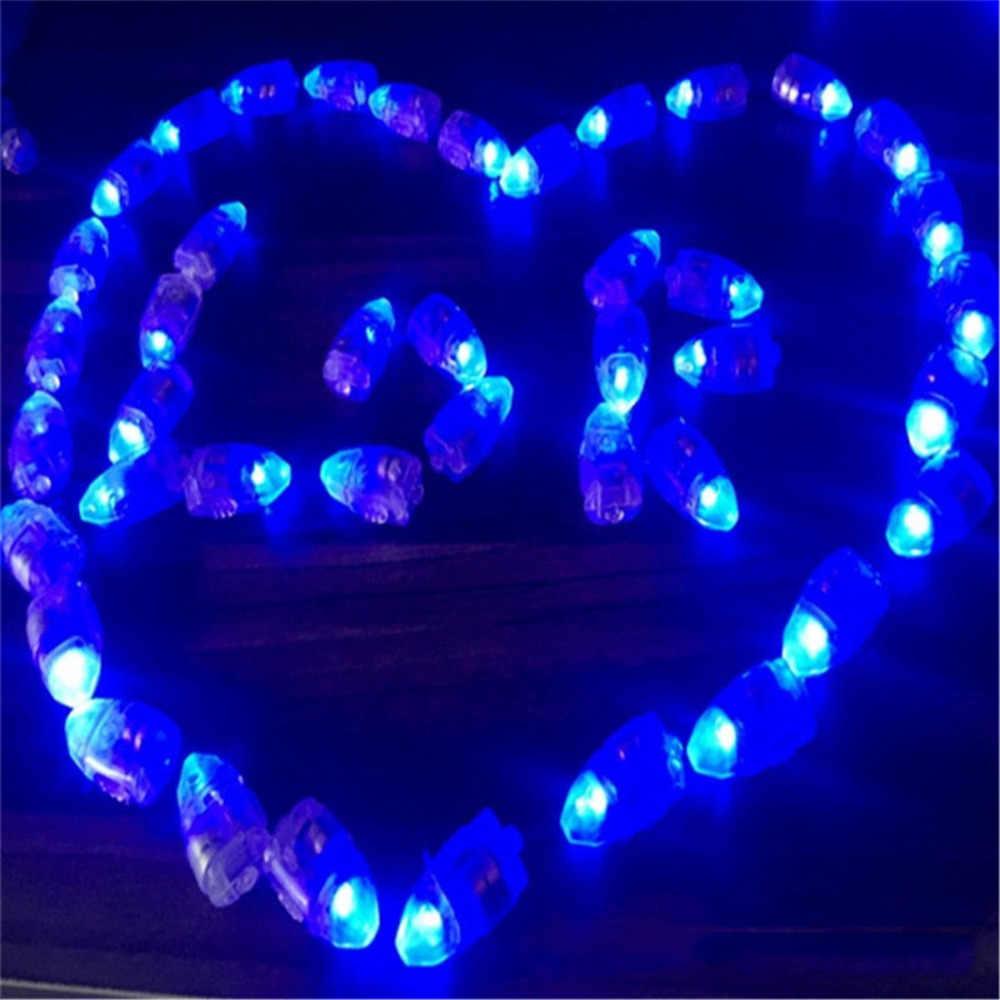 50 sztuk ślub dekoracje świąteczne festiwalu urodziny dzieci Party Decor Luminous świecące światło chemiczne Neon Bullet Led