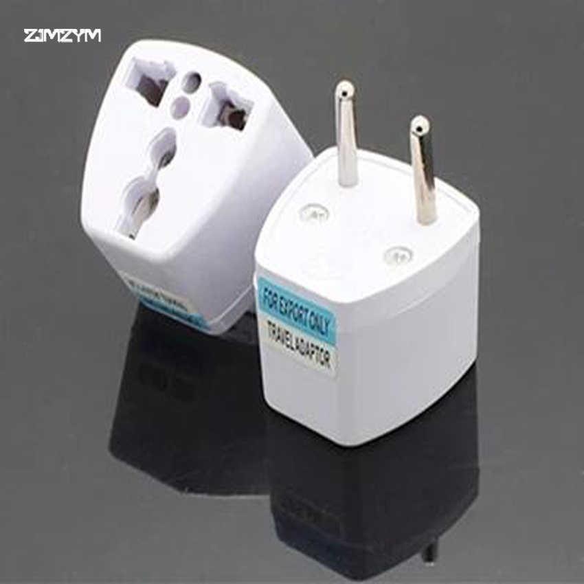 1 PC Adapter podróżny Adapter ue do usa, wielkiej brytanii, HK itp konwerter adaptera przełączanie Plug 2 Pin AC moc Adapter wtyczki wielofunkcyjny wtyczka