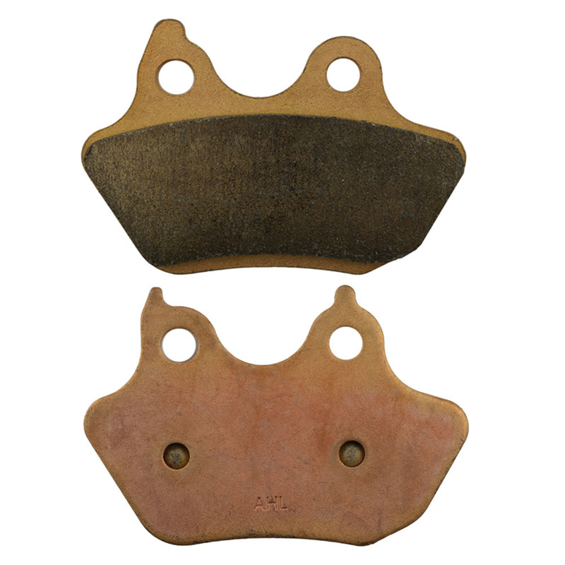 Motorcycle Parts Copper Based Sintered Brake Pads For HARLEY DAVIDSON FLSTF / FLSTFi 2007 Rear Motor Brake Disk #FA434 an incremental graft parsing based program development environment