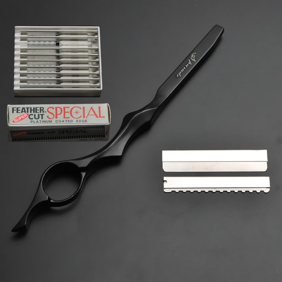 """Profesionalus kirpimas """"Sharp"""" / plonas peilio kirpimo skustuvo - Plaukų priežiūra ir stilius"""