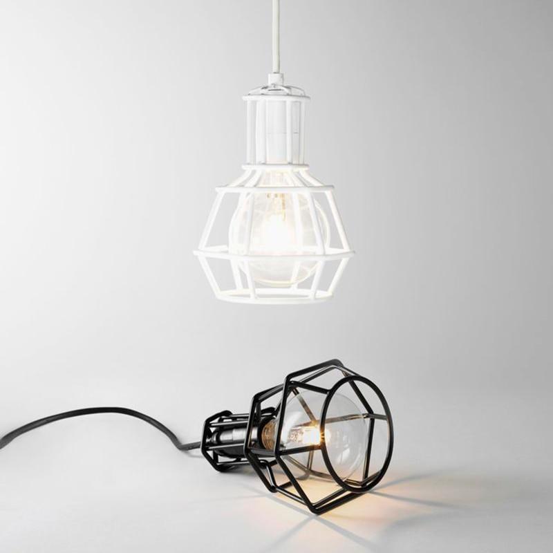 luminaria led estilo nordico luminaria pendente retro industrial para decoracao restaurante ferro lampada e27 110v 220v