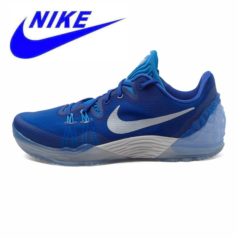 new products 41291 a7ea2 Original NIKE ZOOM Authentic New Arrival Men s Breathable Basketball Shoes  Sneakers Trainers