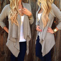 2016 Spring Hot Women Long Sleeve Knitted Cardigan Loose Sweater Women Sweater