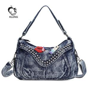 a2b9b2ecea60 KUJING Handbag Shoulders Messenger Bag Luxury Women s