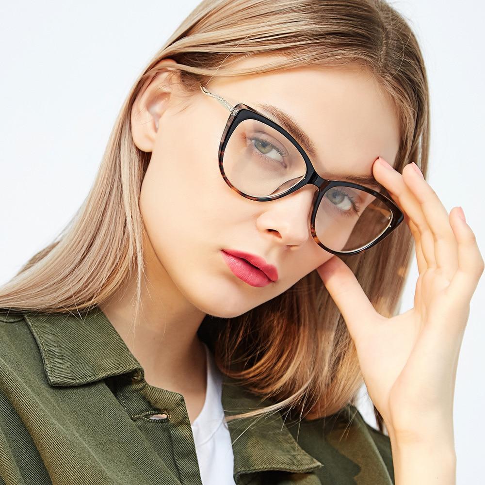 f47ed41682 SOZO TU Trend Retro Alloy Legs Oversized Eyewear Frame Women Men Personality  Optical Eyeglasses Computer Glasses Spectacle Frame