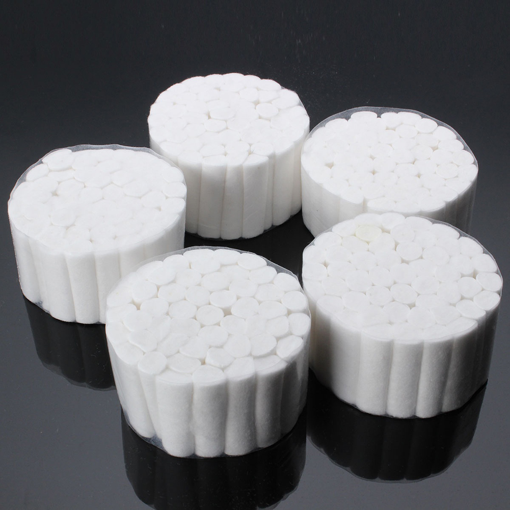 5Pcs Disposable Cotton Rolls Clinic Dental Treatment Absorbent Medical Supplies