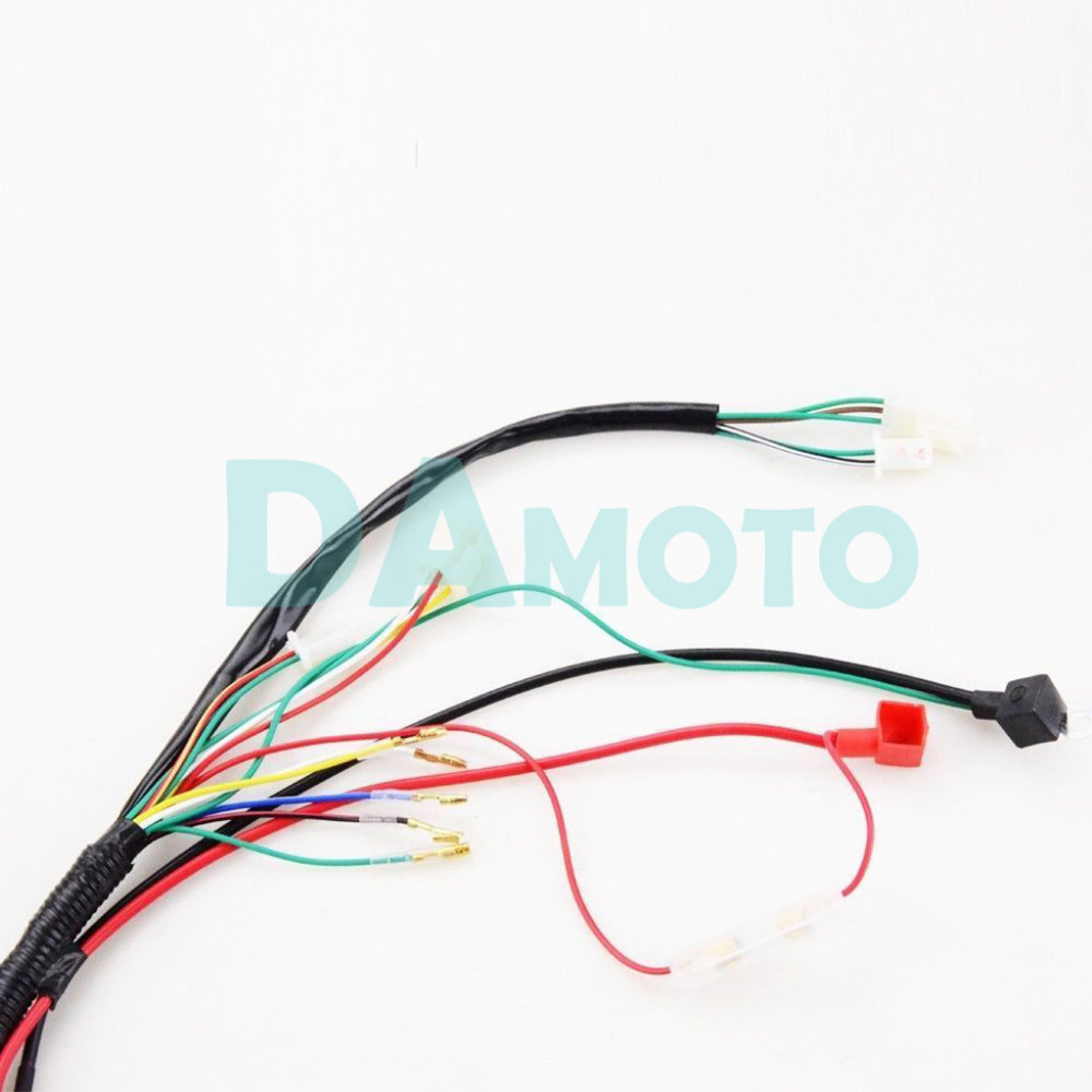 Full Electrics Wiring Harness Cdi Coil 110cc 125cc Atv Quad Bike Buggy Gokart In Parts Accessories From Automobiles Motorcycles On