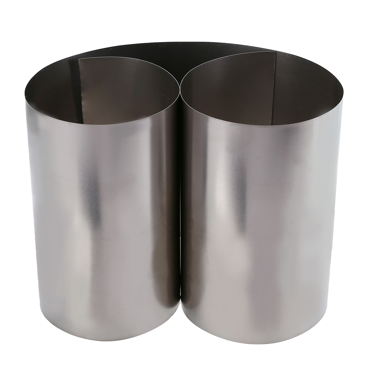 Mayitr 1pc Silver Thin Titanium Sheet Gr2 Titanium Foil  High Purity Ti Metal Square Plate Sheet Foil Craft 0.1x100x500mm