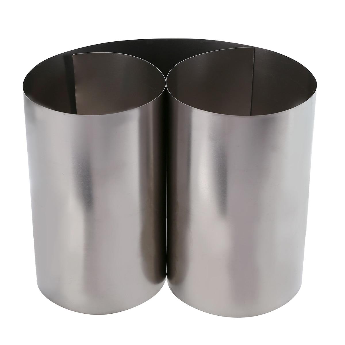 Mayitr 1pc prata fina folha de titânio gr2 folha de alta pureza ti metal quadrado folha folha ofício 0.1x100x500mm