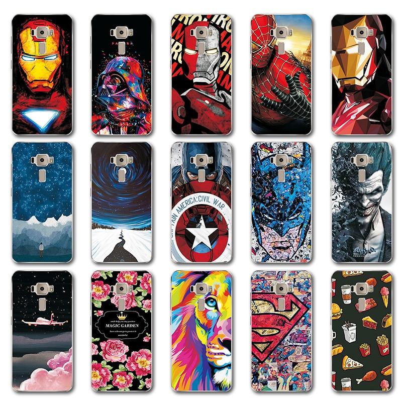 Fitted Cases Cellphones & Telecommunications For Asus Zenfone 3 Ze552kl Silicone Phone Case Cover Zenfone 3 Ze552kl Novelty Iron Man Avengers Case Bag Fundas Zenfone 3 5.5 Drip-Dry