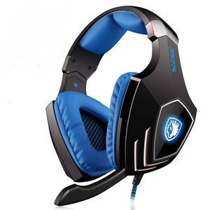 Image 4 - SADES A60 USB Virtual 7.1 Gaming Headset  Wired Headphones Deep Bass Vibration Casque Headphone with Microphone for Gamer