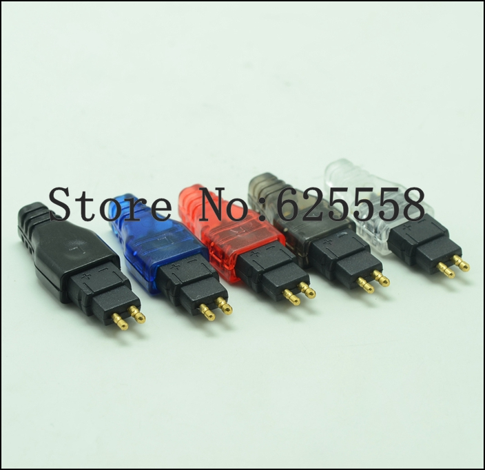 Pin wire Plug Connector for Senheiser HD650 HD600 HD580 HD565 HD545 HD535 HD525 HD265 HD25 headset headphone DIY earphone 4 color diy adapter pin for sennhei hd580 hd600 hd650 headphone headset 2pcs