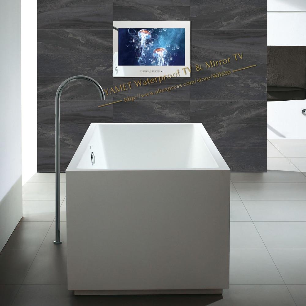 Online Shop Mirror Bathroom TV Waterproof LCD 22 Inch
