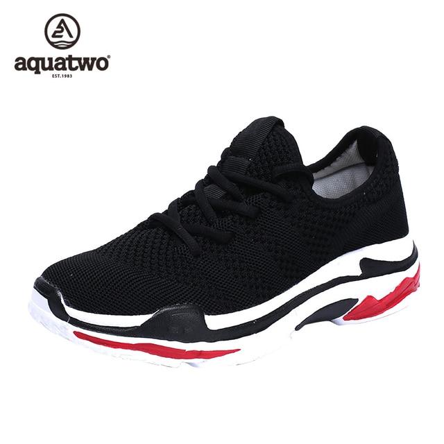 AQUA два Размеры 6,5-9,5 Для мужчин кроссовки Открытый спорт на шнуровке красный серый черный кроссовки мужские спортивные Active теннисные туфли кроссовки