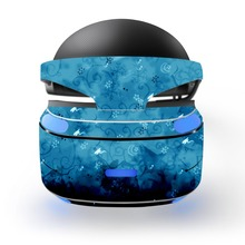 flower print decal PSVR Skin Sticker for Sony Playstation PS VR Headset