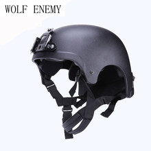 Helmet With NVG Goggle Mount Navy Seal Tactical Army Cycling Hunting Wargame Sakte Men Outdoor Sports Riding Cascos Cislismo(China)